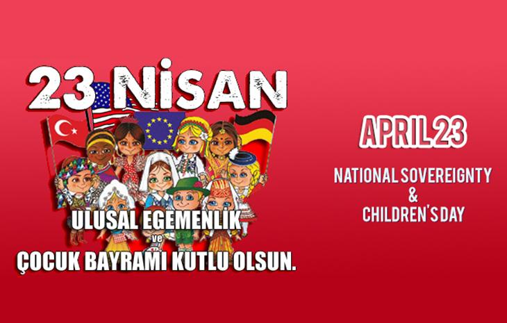 April 23: Children's Day